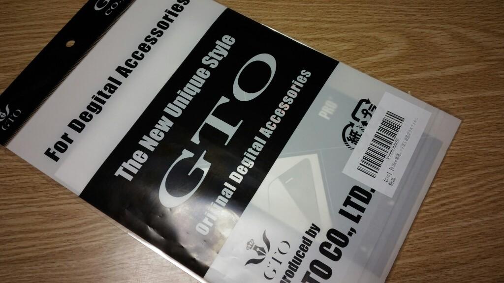 GTOさんの液晶保護ガラスフィルム