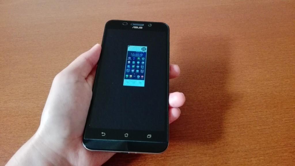 Zenfone Max片手モード小さすぎ