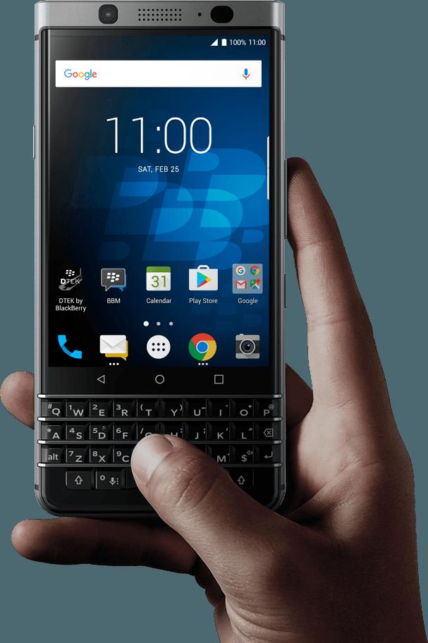 出典:公式サイト BlackBerry KEYone