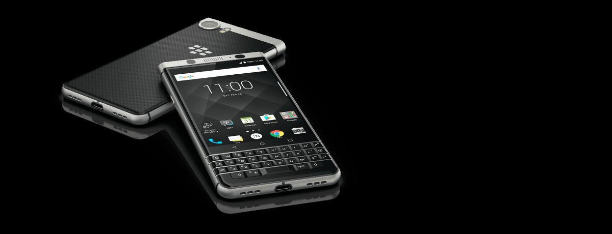 没個性スマホが多い中でキラリと光るBlackBerry KEYone。