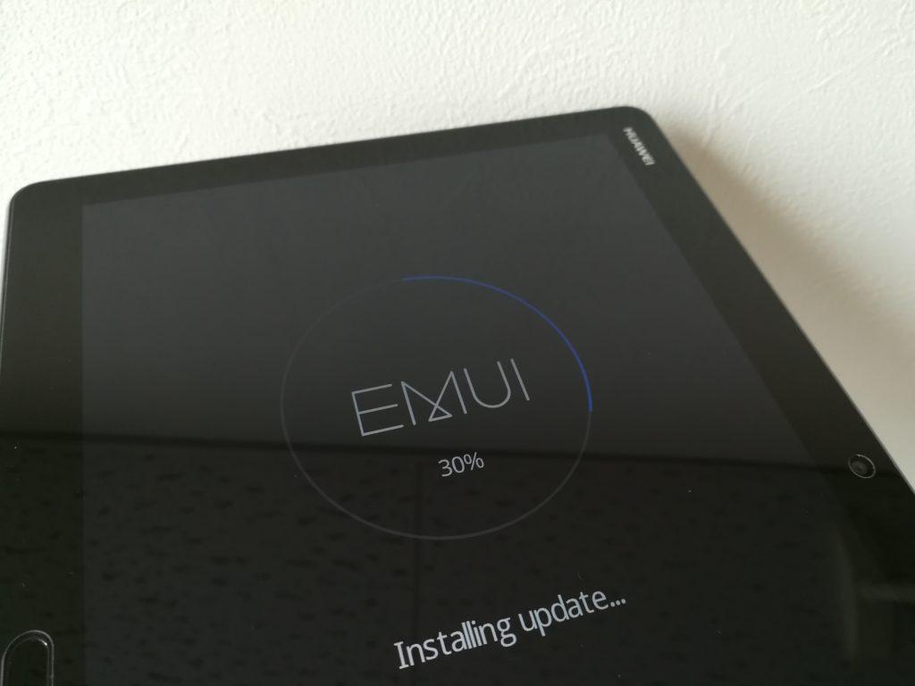 EMUIの更新