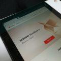 HUAWEI Media Pad M3 Lite 10 のChromeのブラウザで見る