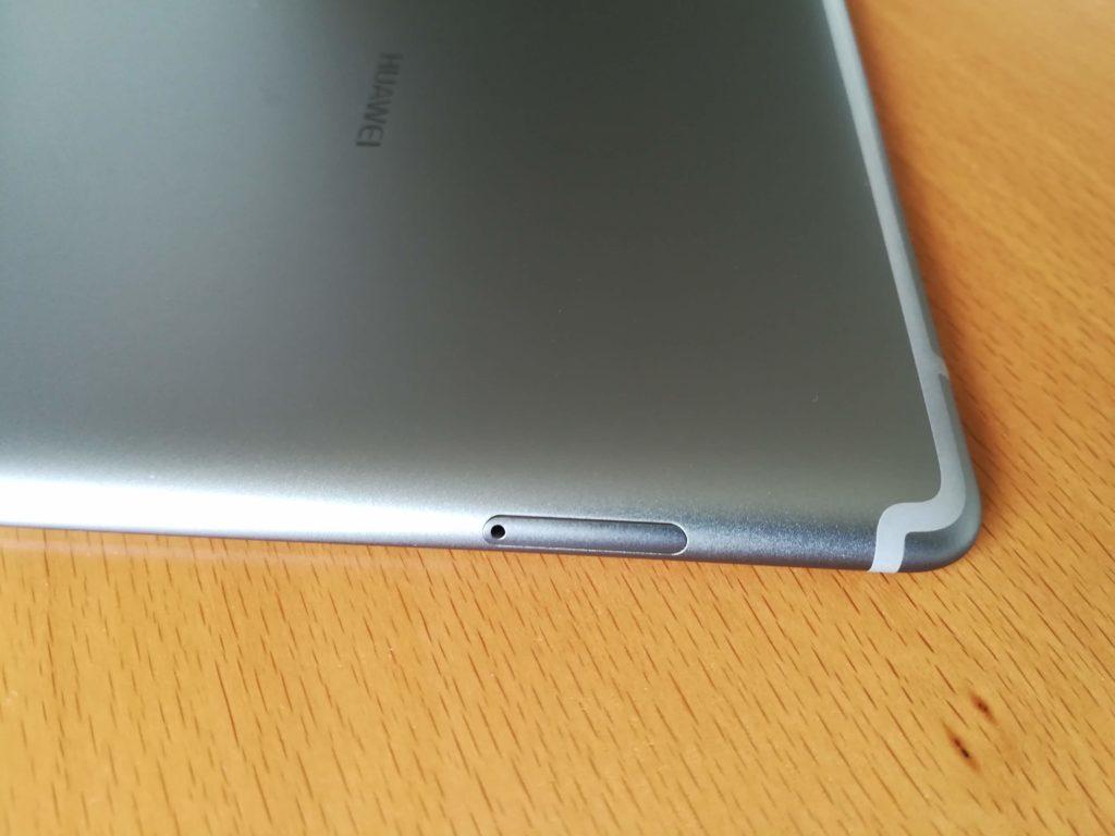 MediaPad M5 microSDのトレー