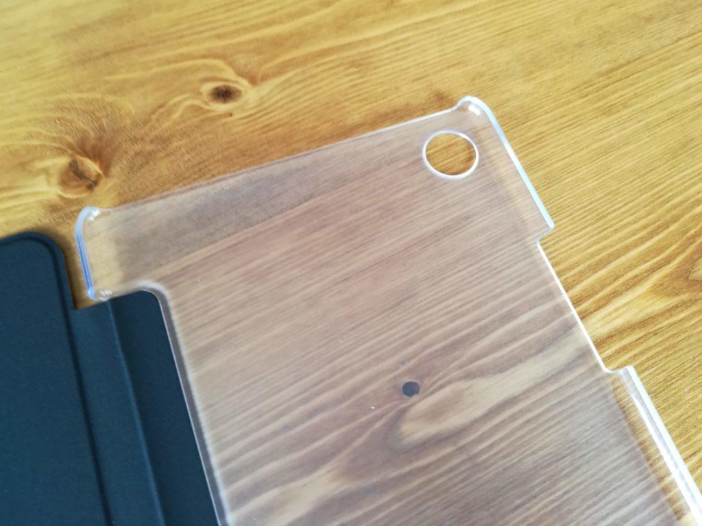 HUAWEI MediaPad M5のケースの透明部分
