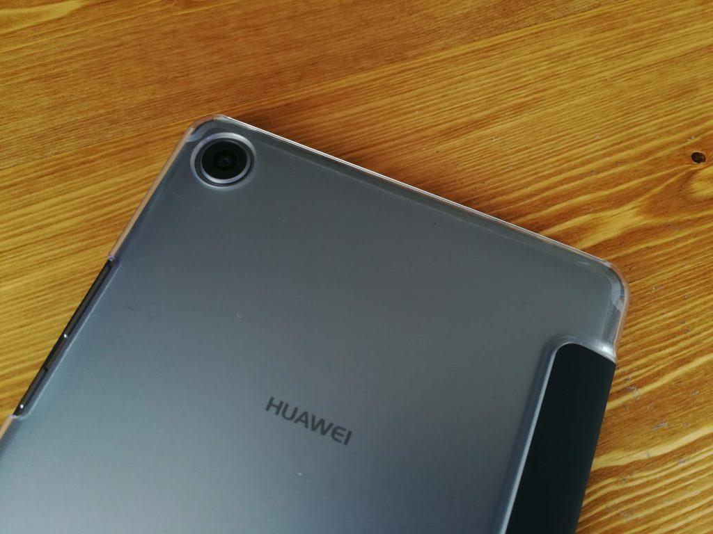 HUAWEI MediaPad M5の透明ケース。