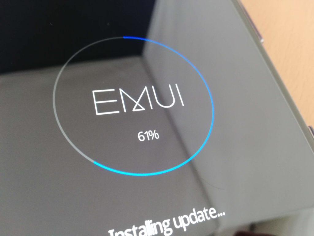 HUAWEI MediaPad M5アップデート