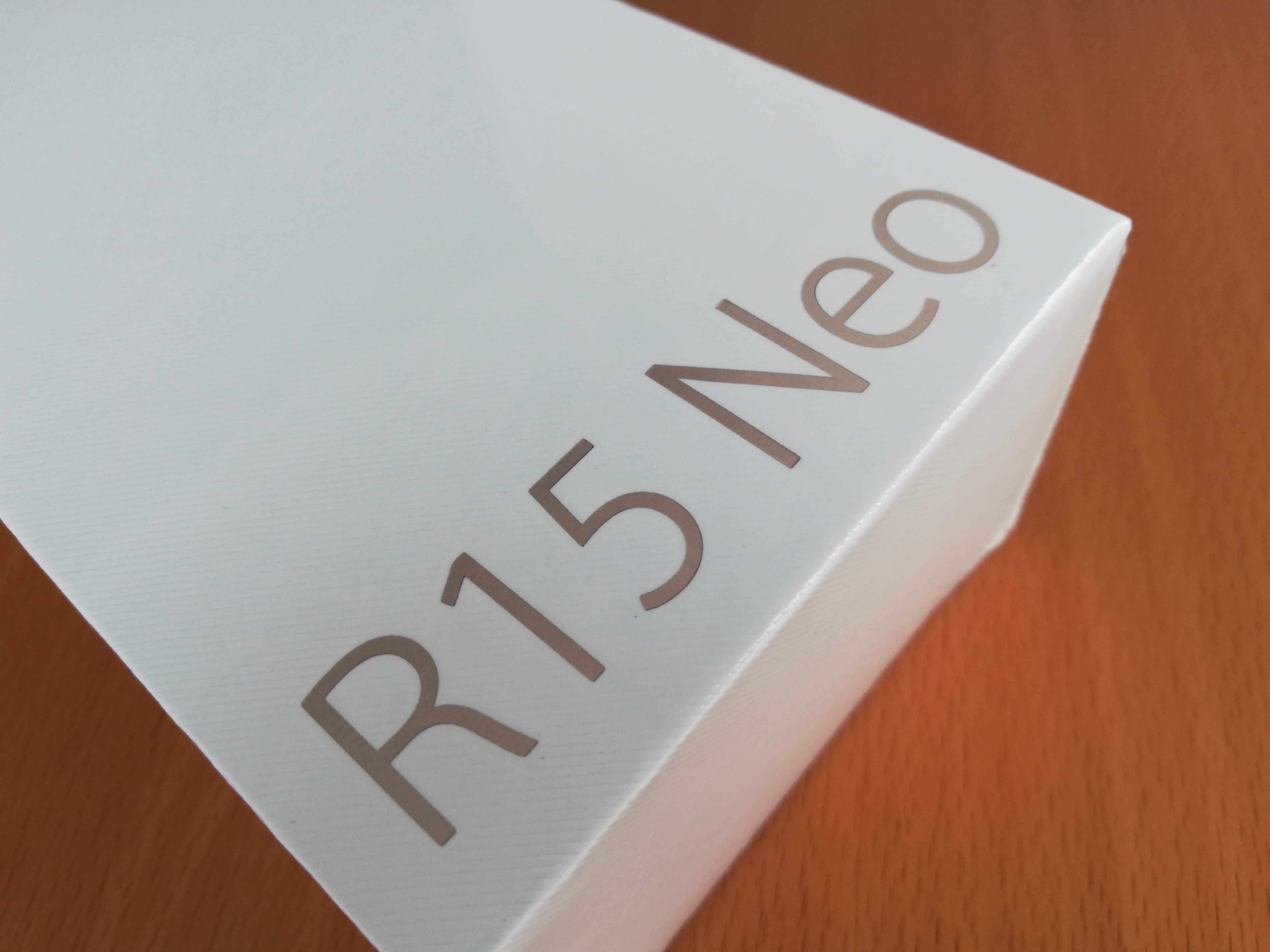 OPPO R15 Neo外箱