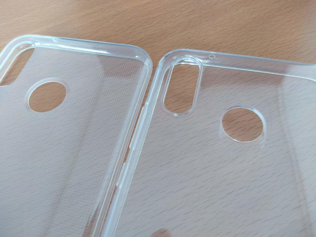 指紋認証の穴の加工