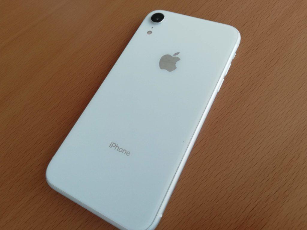 iPhone XRのホワイト