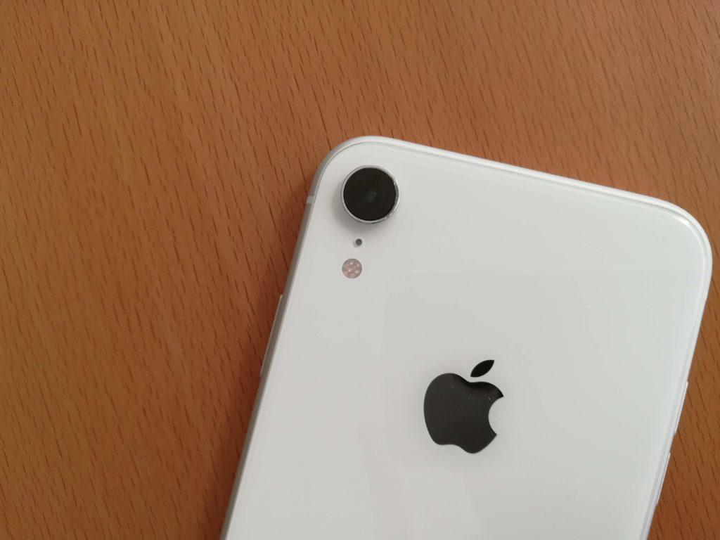 iPhone XRのシングルカメラ