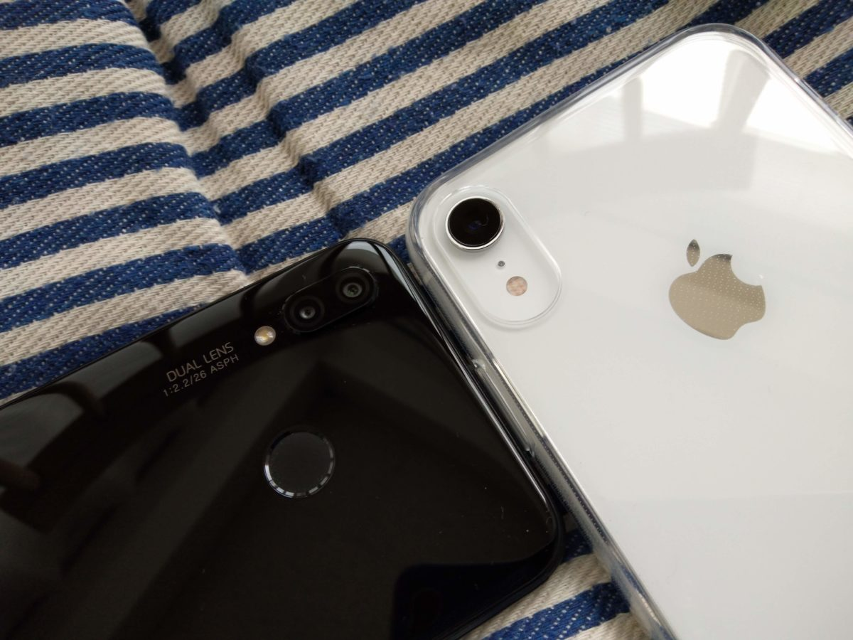 P20 liteとiPhone XRの写真はどれだけ違う?