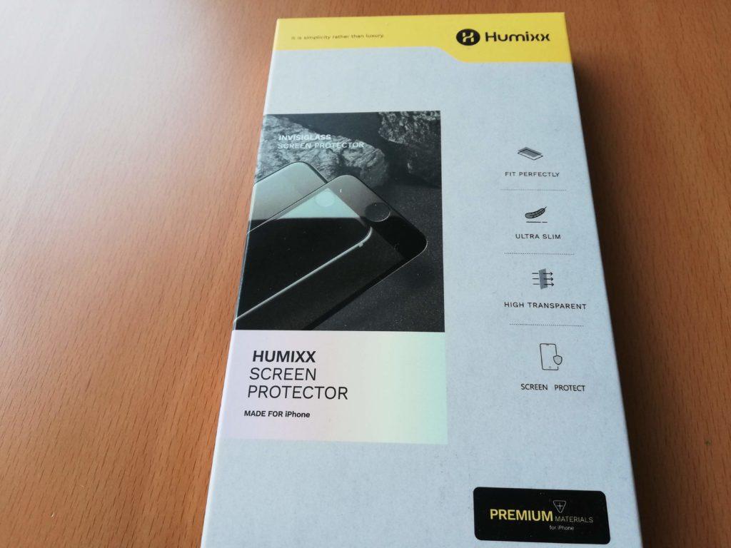 Humixxの液晶保護ガラスフィルム