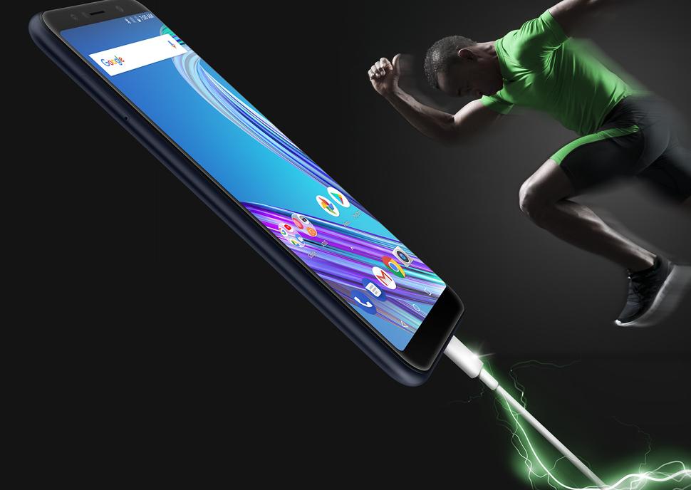 Zenfone Max Pro M1のバッテリーはものすごい