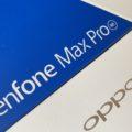 Zenfone Max Pro M1とOPPOを比較