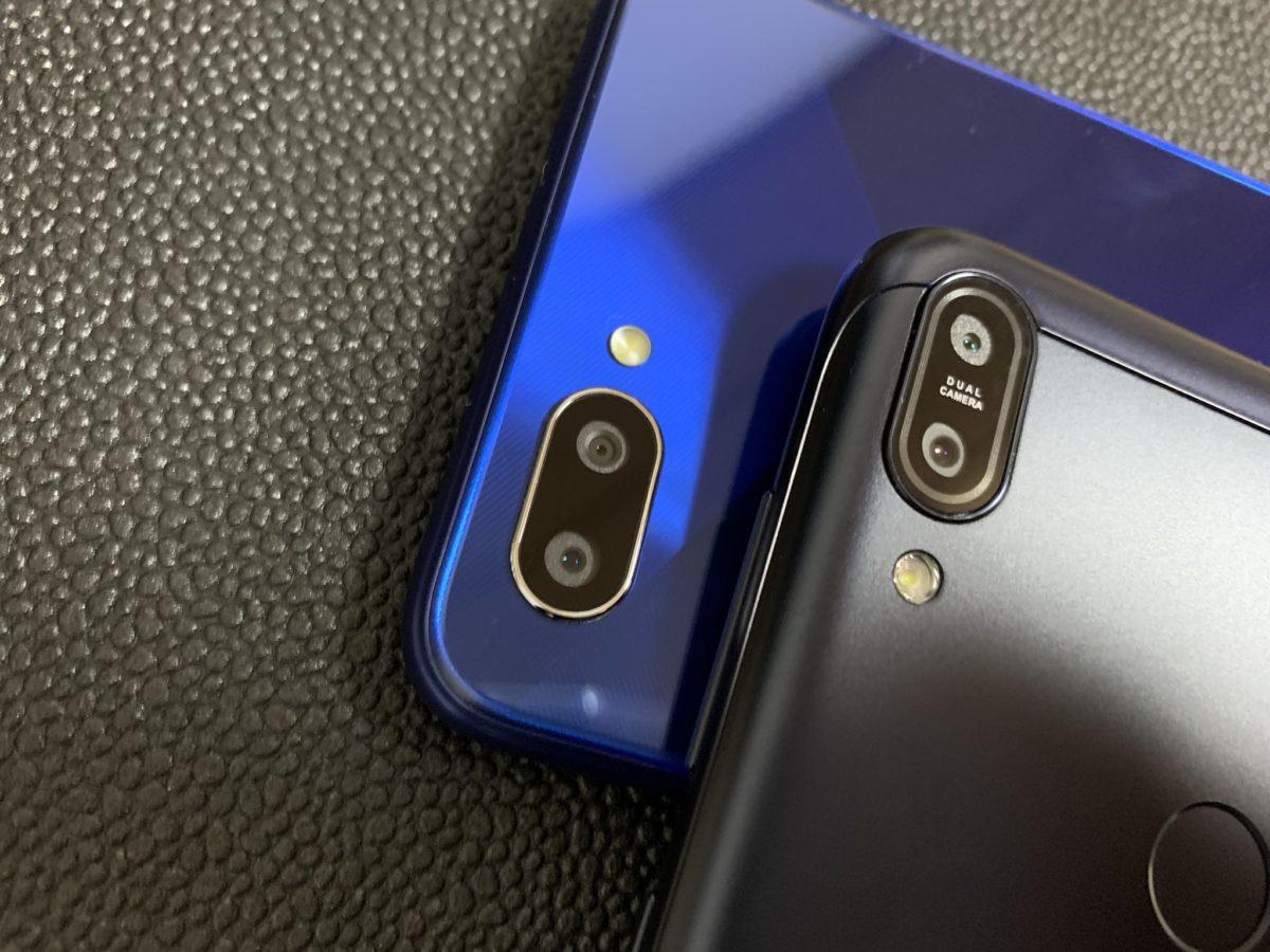 OPPO R15 NeoとZenfone Max Pro M1