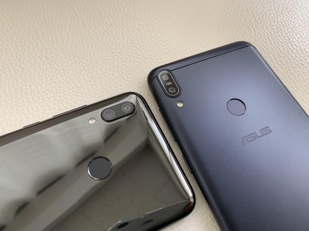 nova lite 3とZenfone Max Pro M1を比較