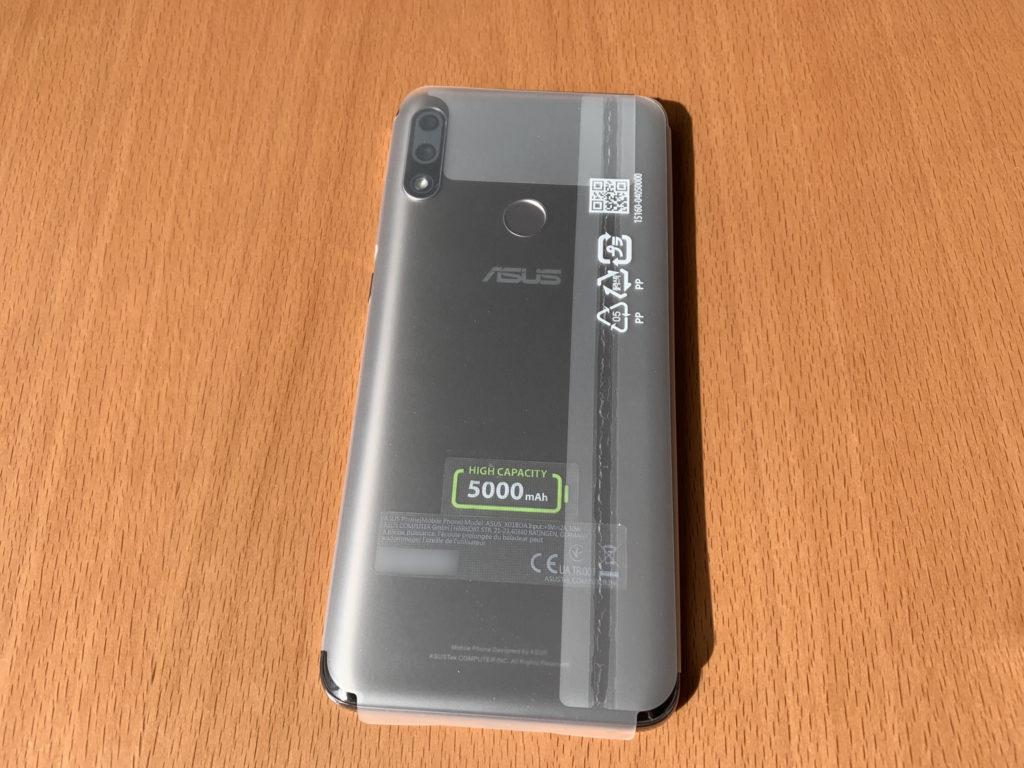 バッテリー5,000mAh