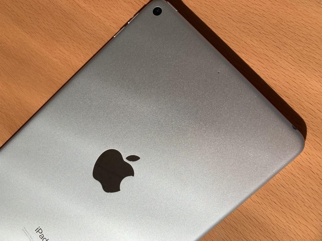iPad miniのリンゴマーク