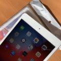 iPad mini 5と透明クリアケース