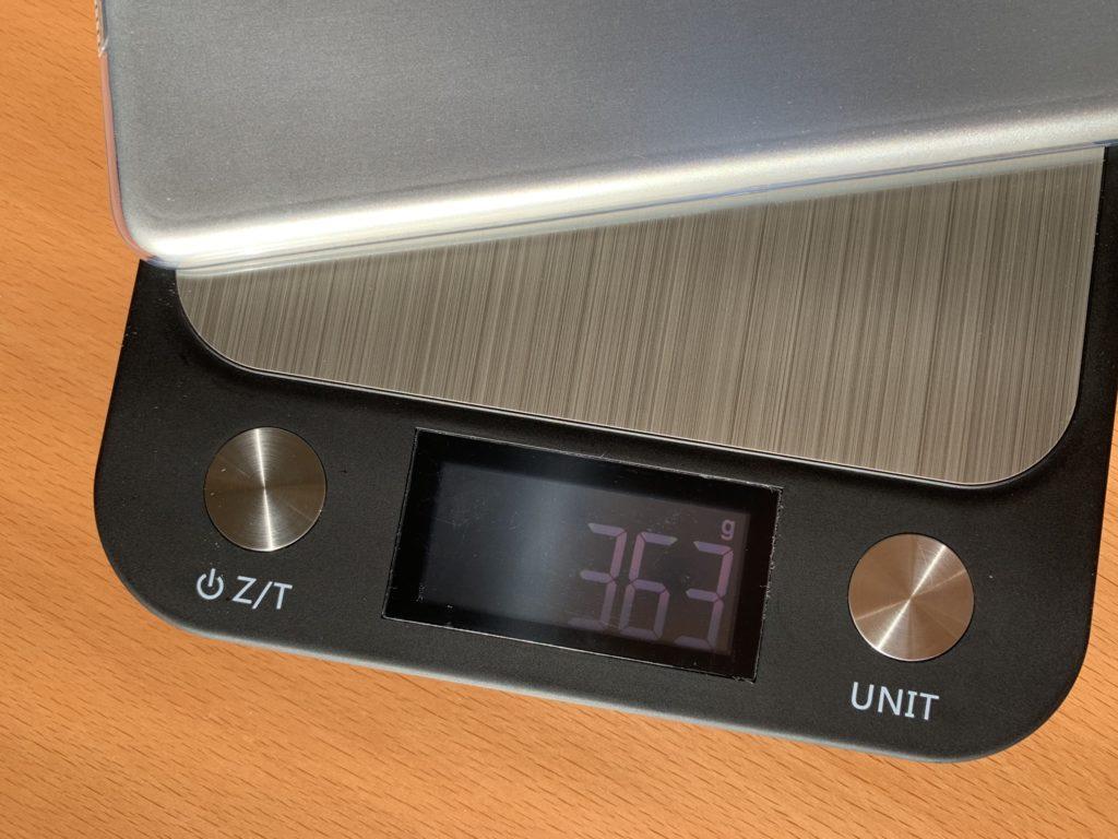 363グラム