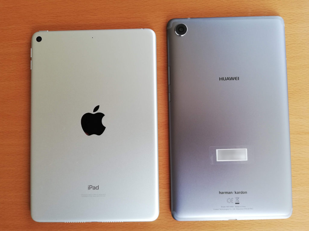 iPad miniとMediaPad M5