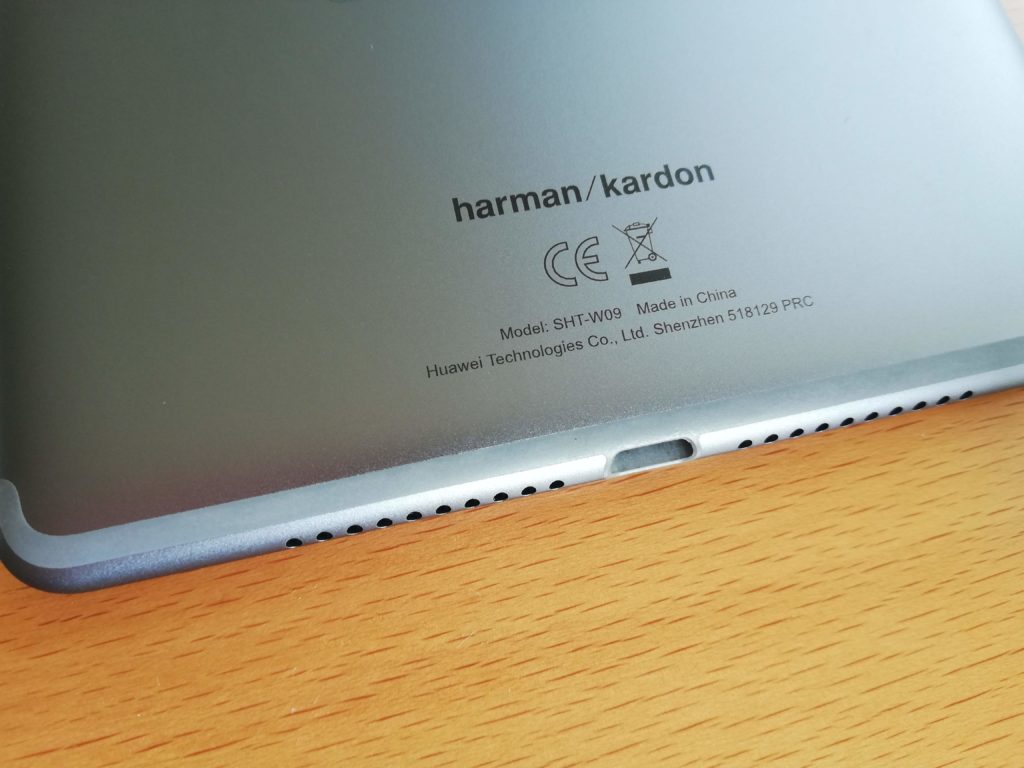 MediaPad M5はハーマン社の音響チューニング