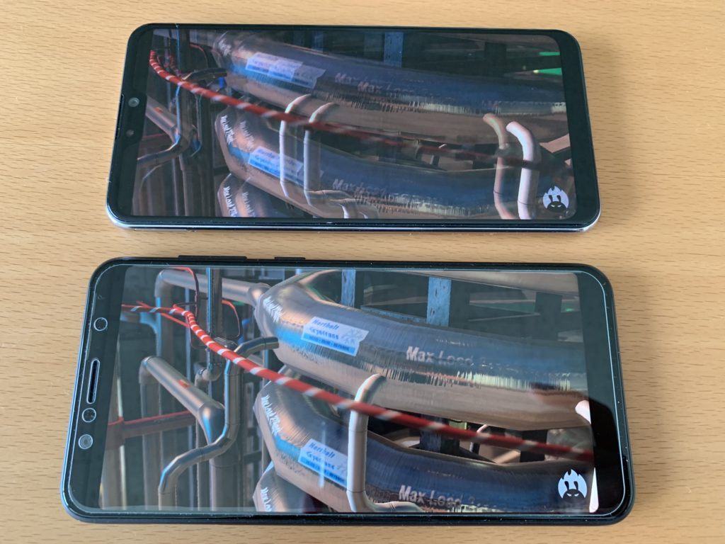 Zenfone Max Pro M2とPro M1のAntutuを比較