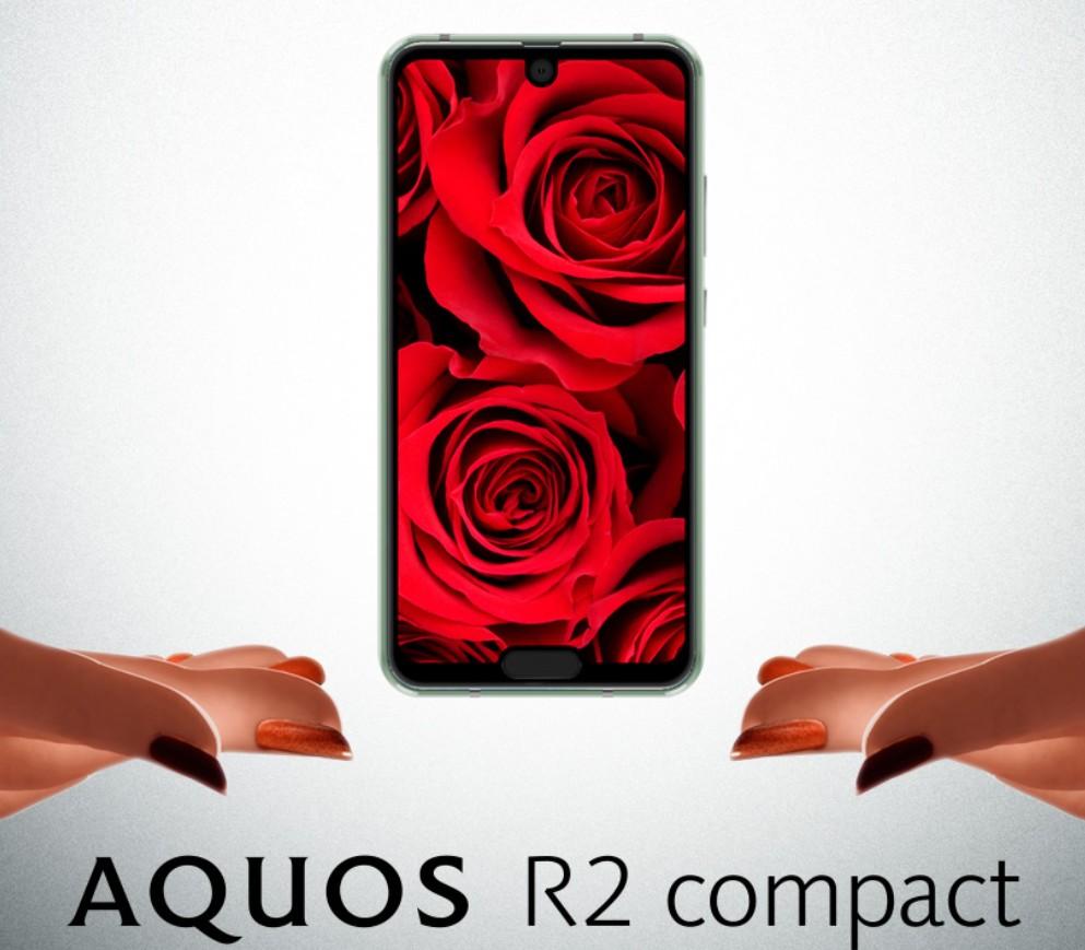 SHARP AQUOS R2 compact(出典:SHARP公式サイトより)