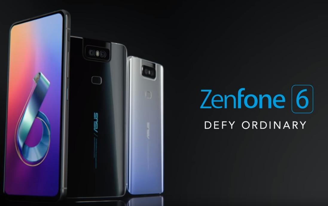 Zenfone 6(出典:ASUS公式サイト)