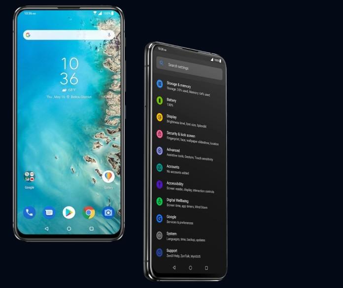 Zenfone 6は画面そのもの(出典:ASUS公式サイト)