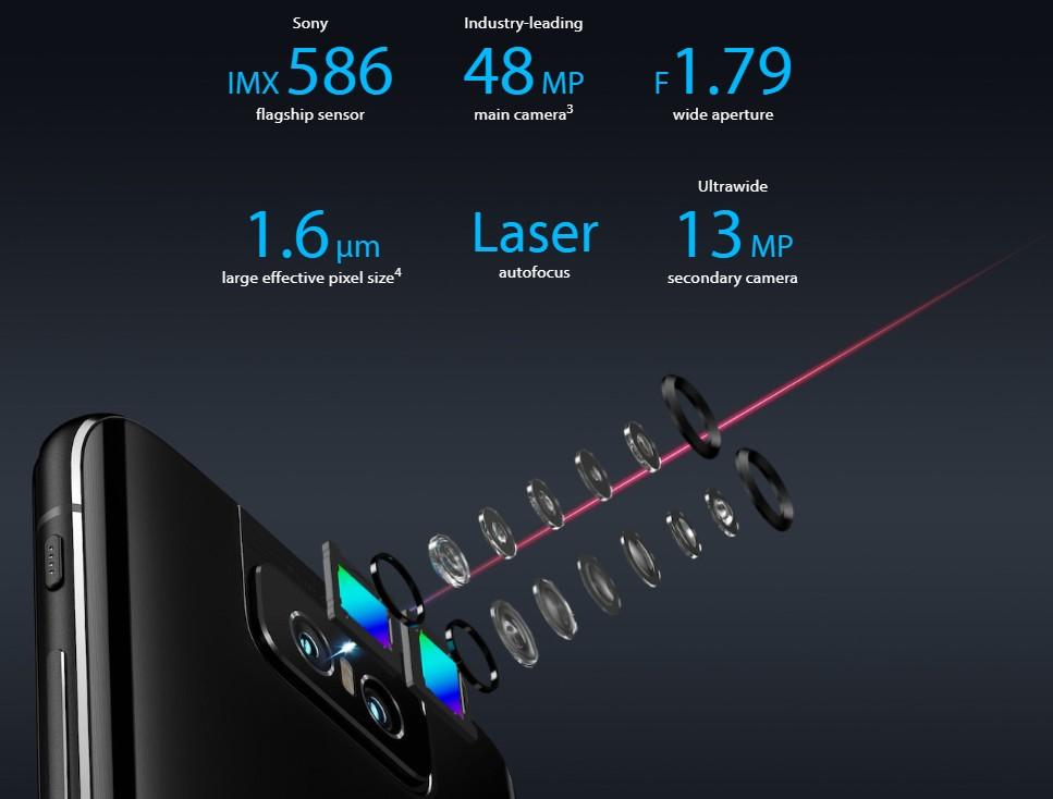 Zenfone 6のカメラ性能(出典:ASUS公式サイトより)