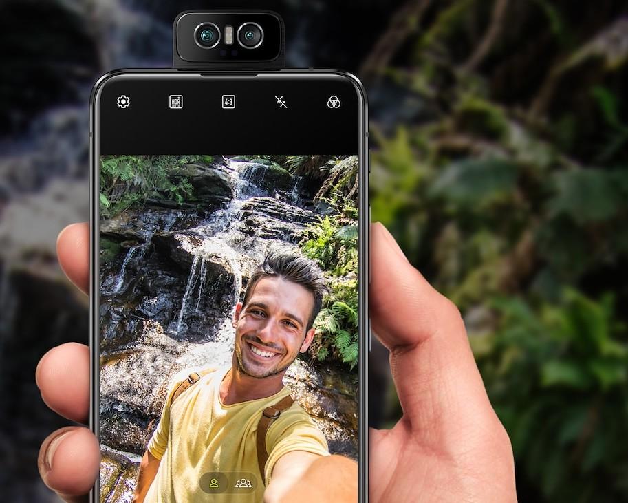 Zenfone 6のフロントカメラはバックと全く同じで高性能!(出典:ASUS公式サイト)