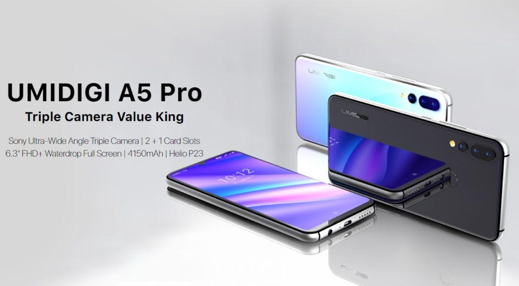 UMIDIGI A5 Pro(出典:UMIDIGI公式サイト)