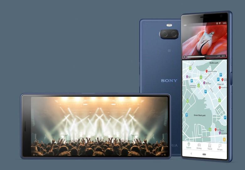 日本での発売が期待されるXperia 10(出典:ソニーモバイル公式サイト)
