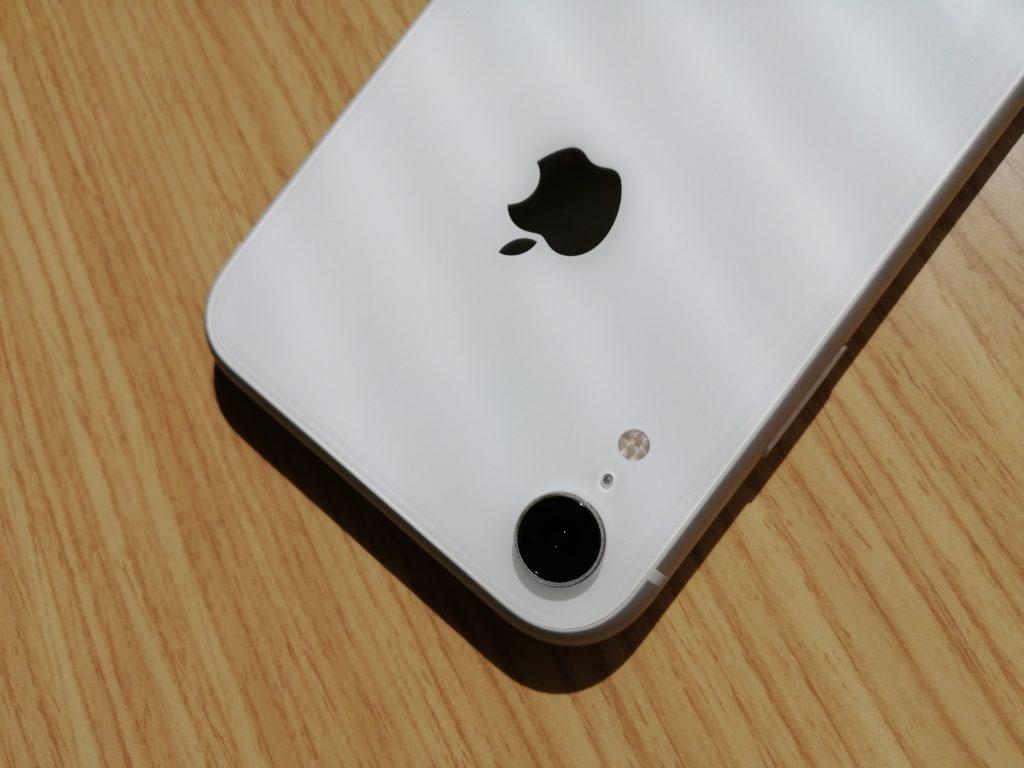 iPhone XRはシングルカメラだった