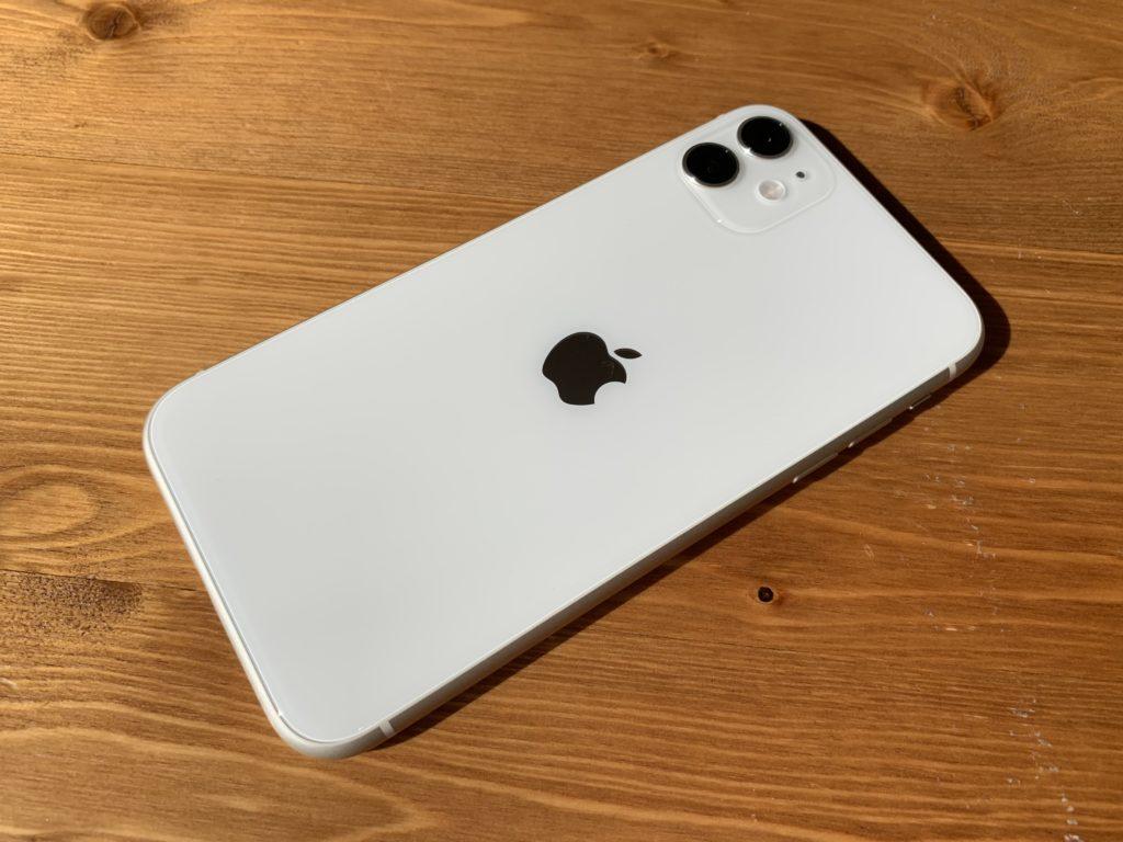iPhoneという文字が消えた