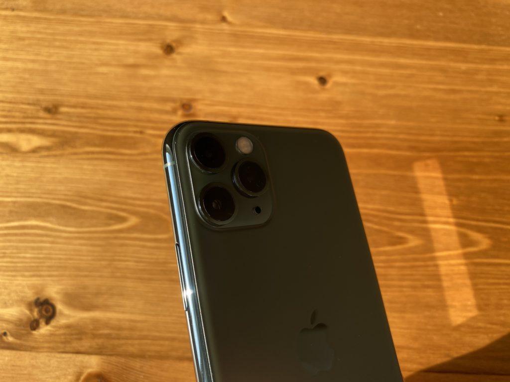 只者ではない雰囲気のiPhone 11 Pro