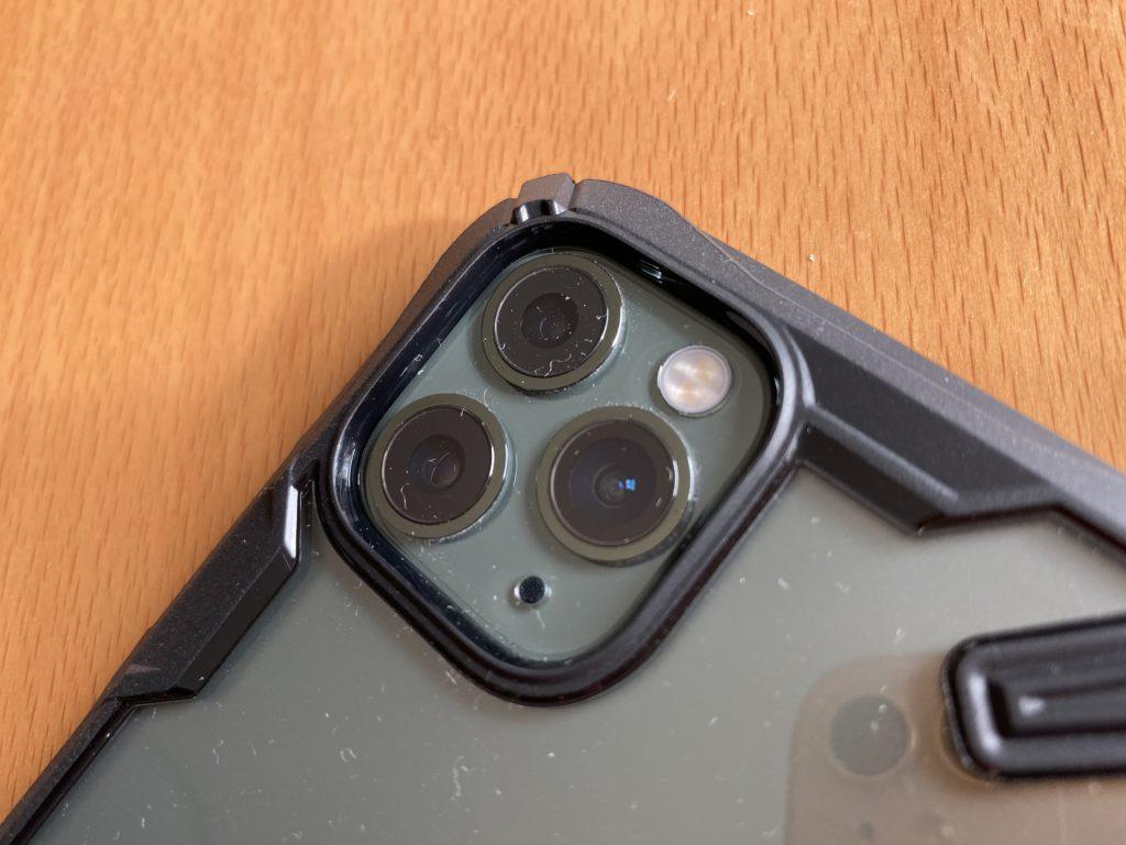 トリプルカメラを守る