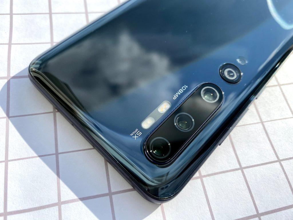 Xiaomi Mi Note 10はマクロカメラ搭載