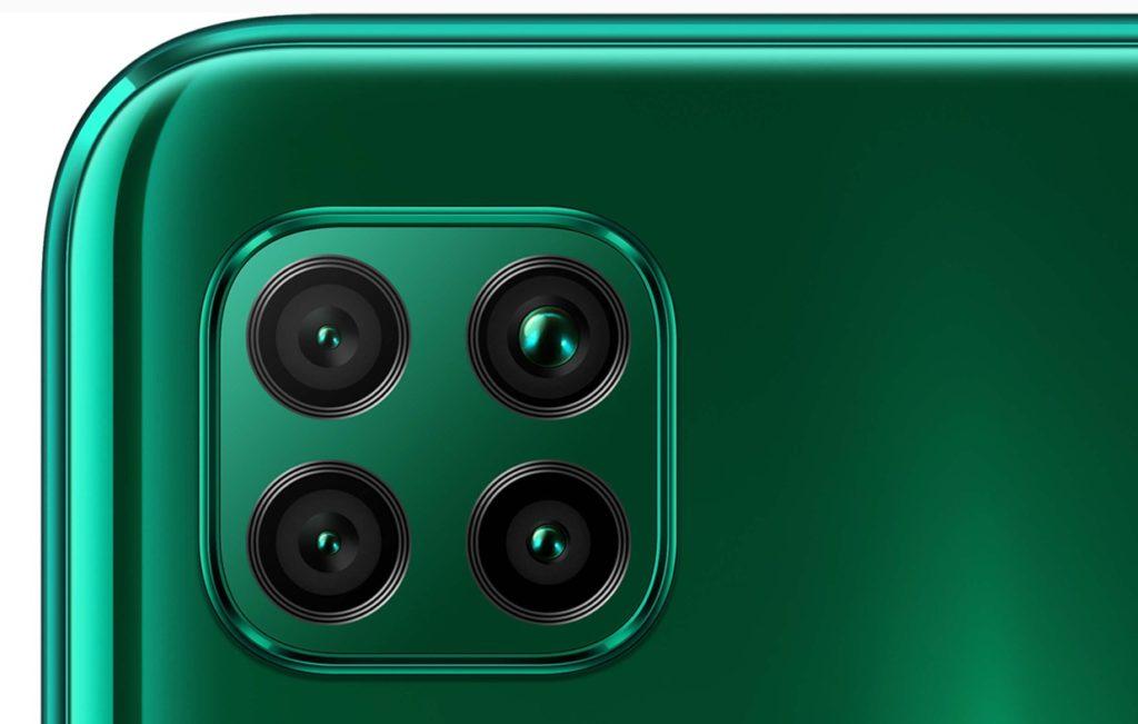 P40 liteは4眼カメラ!(出典:HUAWEI公式サイト)
