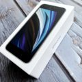 iPhone SEの箱