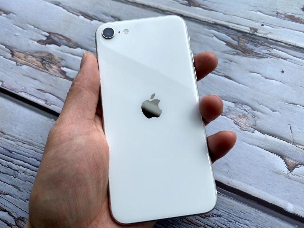 iPhone SE 第2世代はめっちゃちっちゃい