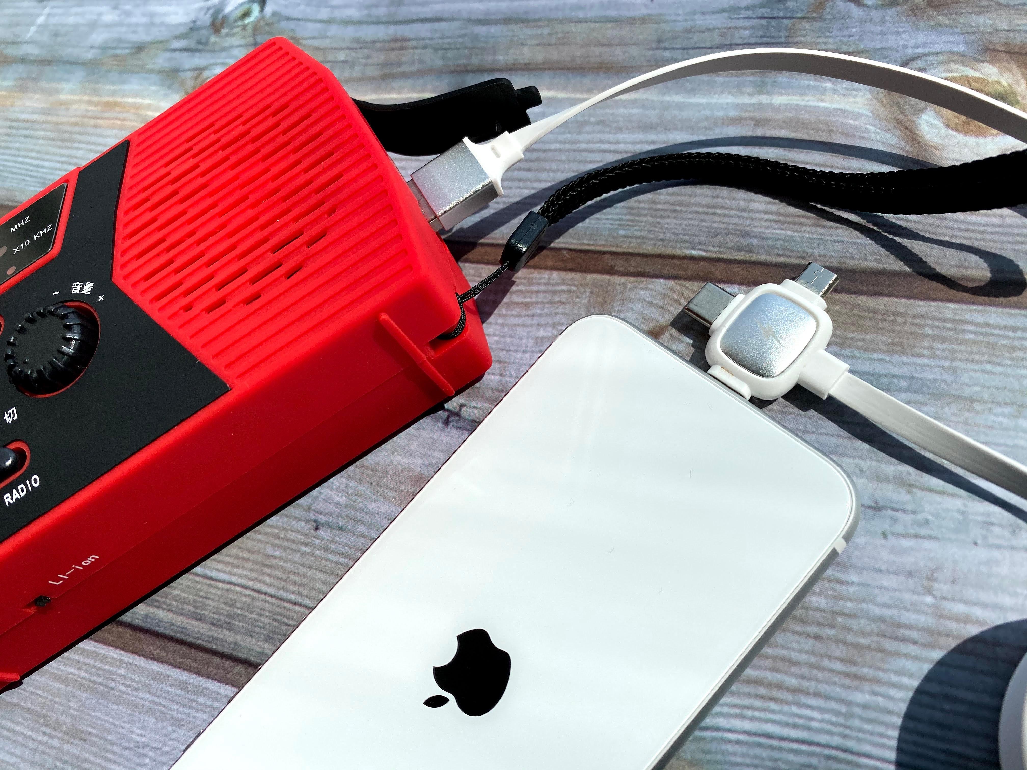 iPhoneとモバイルバッテリー