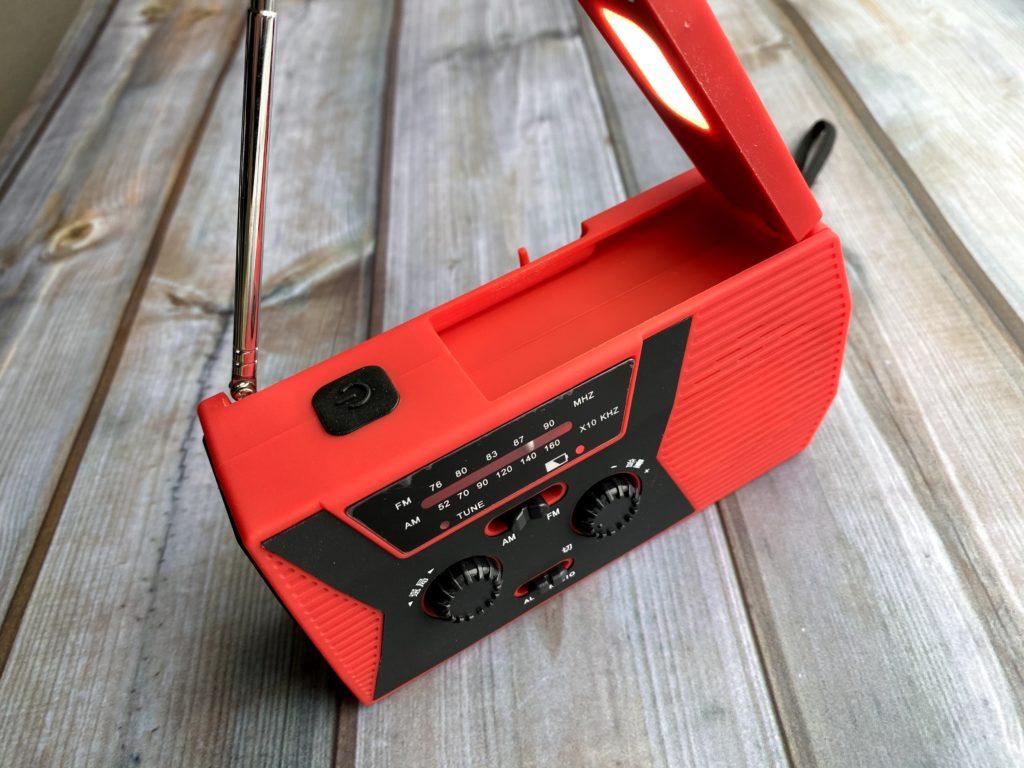 なかなか使える防災ラジオ