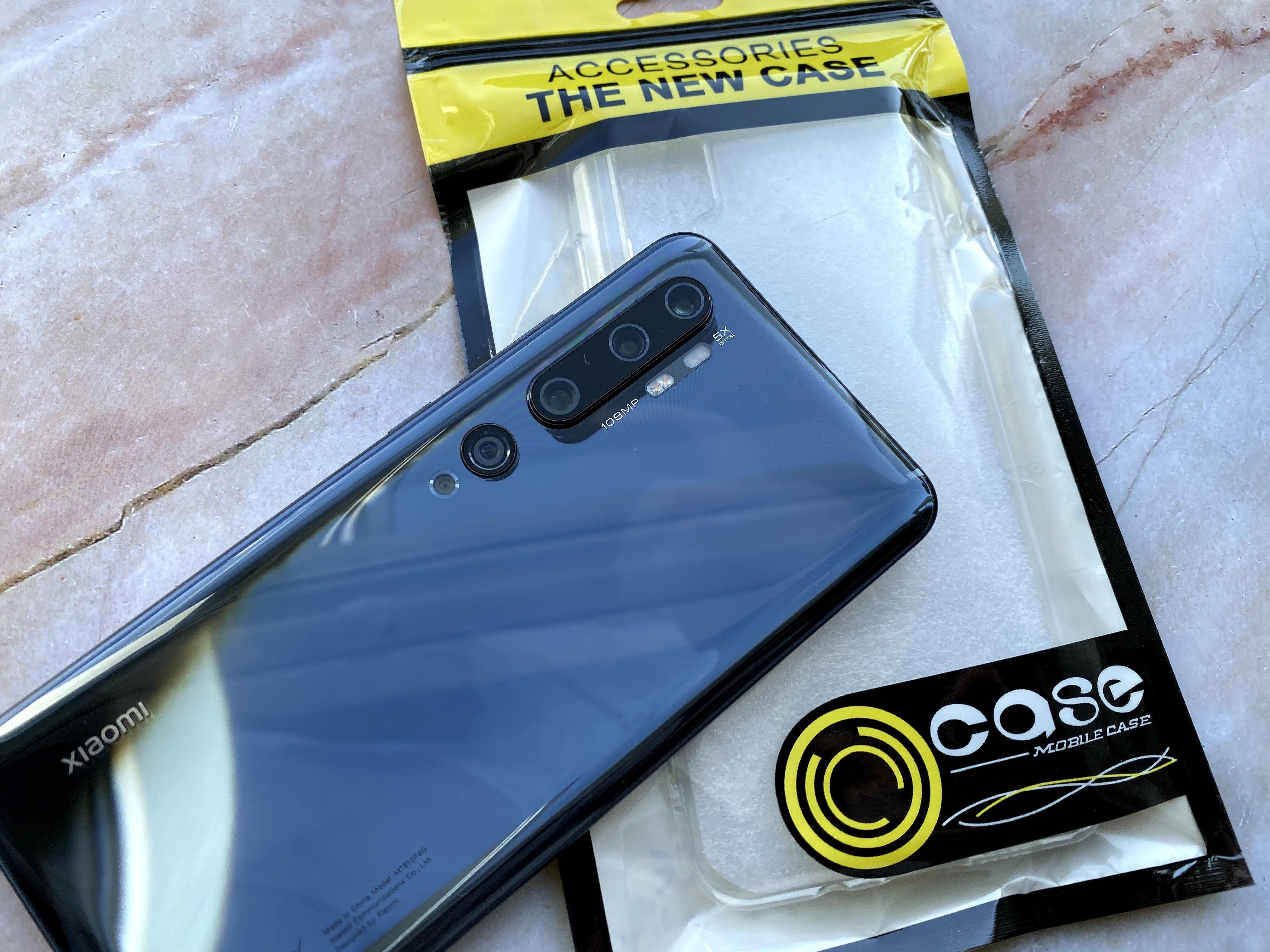 Xiaomi Mi Note 10とケース