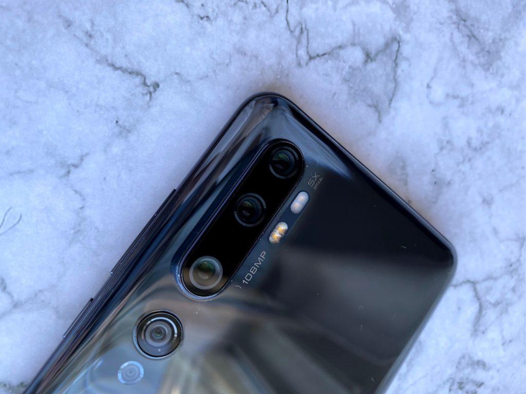 Xiaomi Mi Note 10はペンタカメラ