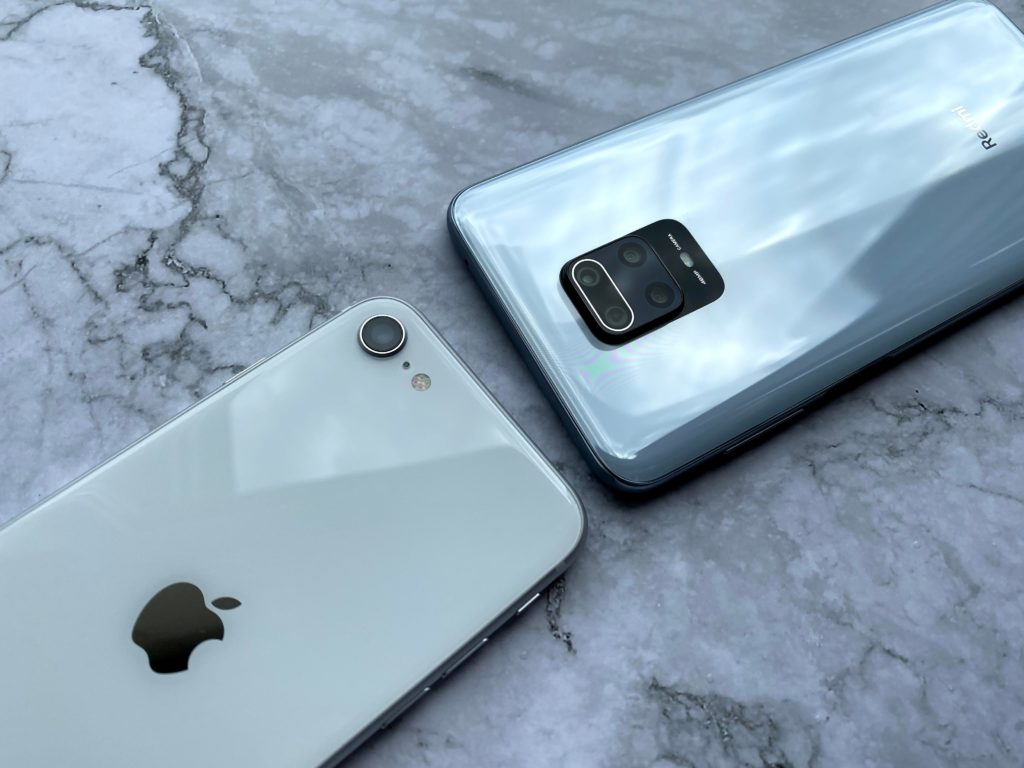 iPhone SEよりRedmi Note9Sのほうがいいのでは??