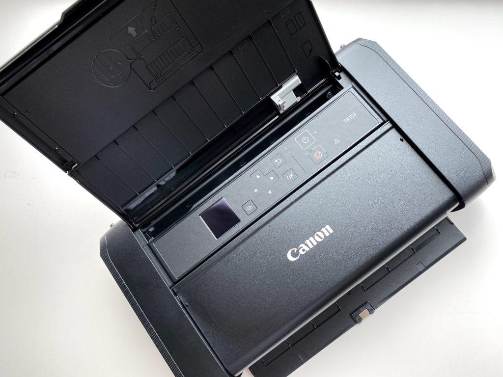 Canon TR153を開けた状態
