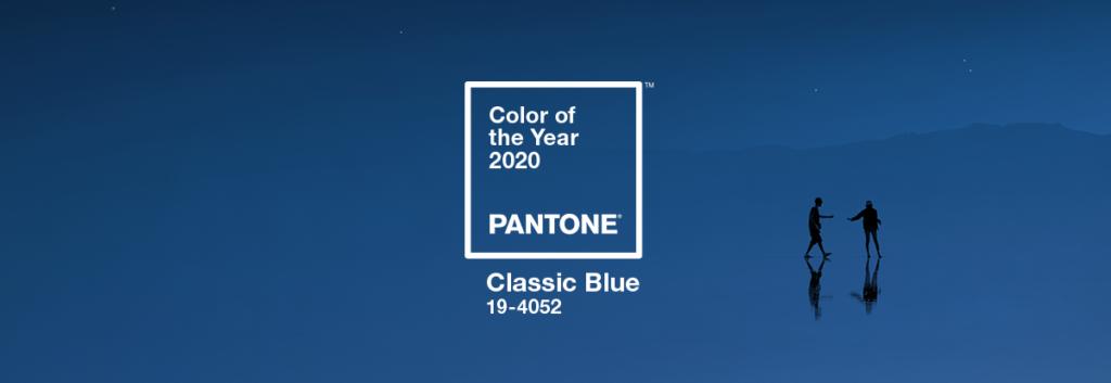 パントン・カラー・オブ・ザ・イヤー2020のカラーはクラシックブルー(出典:パントン公式サイトより)