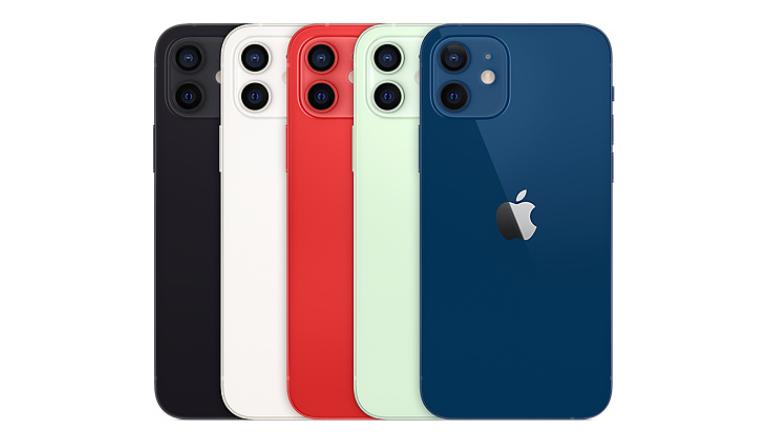 iPhone 12のカラーバリエーションは5色